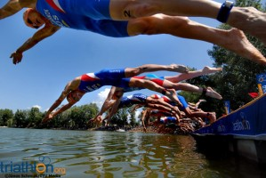 Workshop de natação em águas abertas